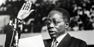 Il presidente e poeta senegalese Léopold Sédar Senghor
