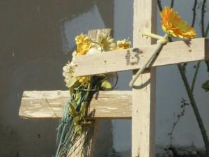 Croci senza nome al cimitero di Lampedusa