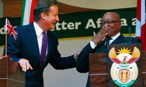 Cameron in un recente viaggio in Sudafrica