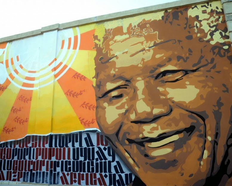 Murales dedicato a Mandela (Milano) - realizzato da Ivan
