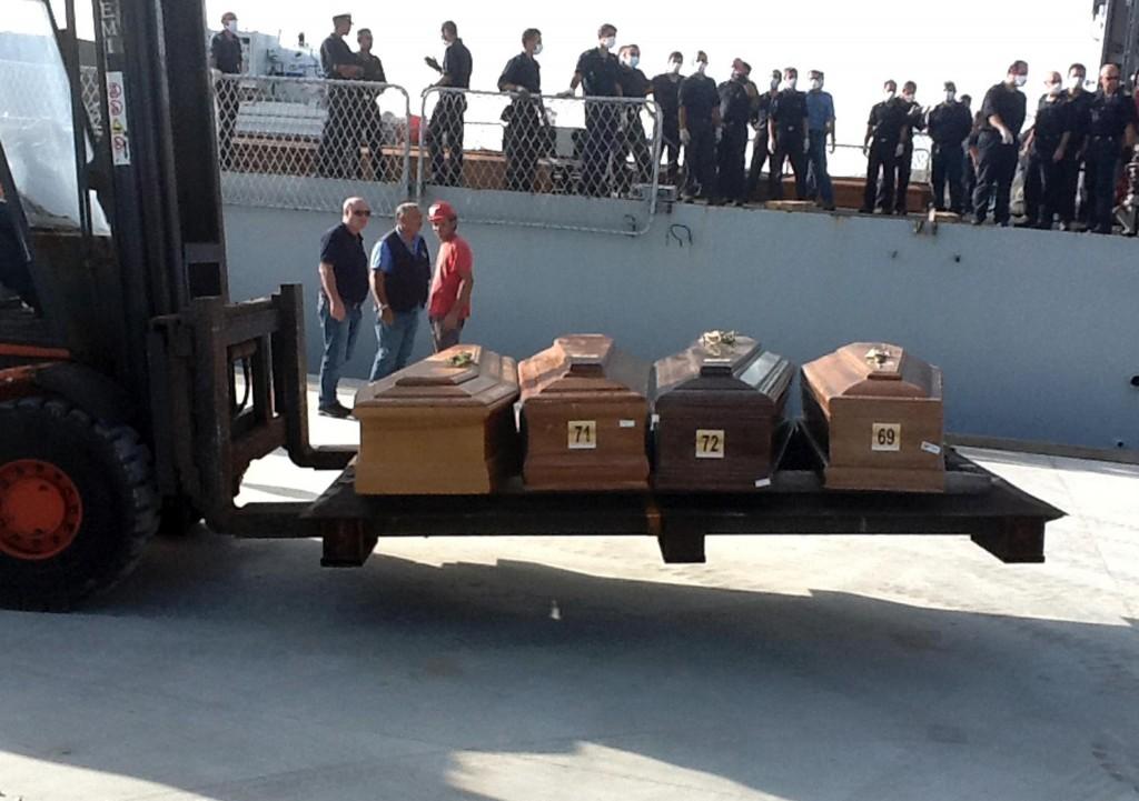 ++ Naufragi: lunedì ad Agrigento funerali vittime ++